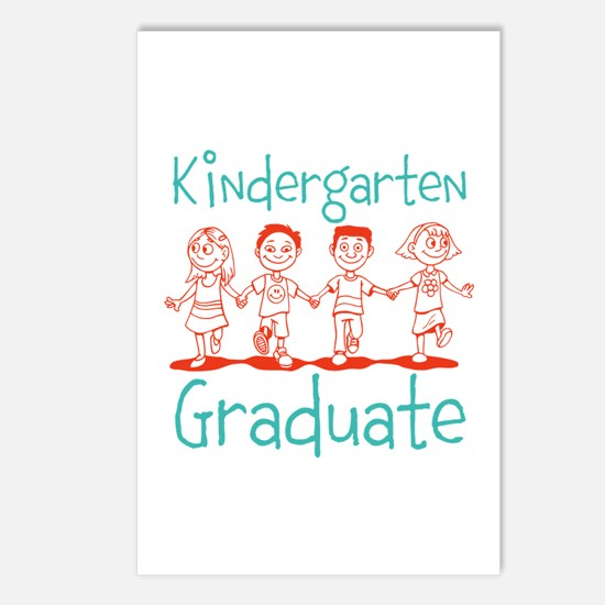 Kindergarten Graduate Postcards (Package of 8)