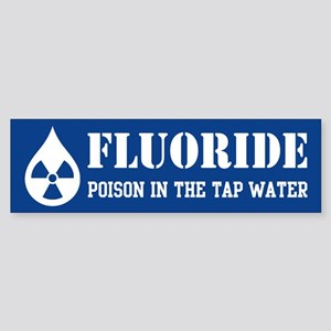 Fluoride Poison Sticker