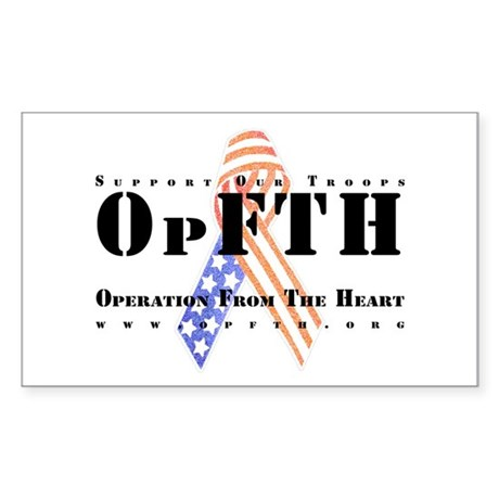 OpFTH Sticker (Rectangle 10 pk)