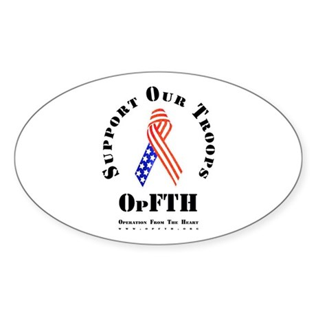 OpFTH Sticker (Oval 50 pk)