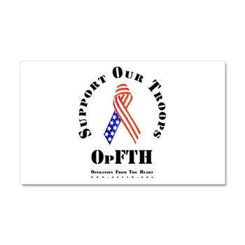 OpFTH Car Magnet 20 x 12