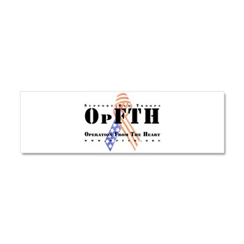 OpFTH Car Magnet 10 x 3