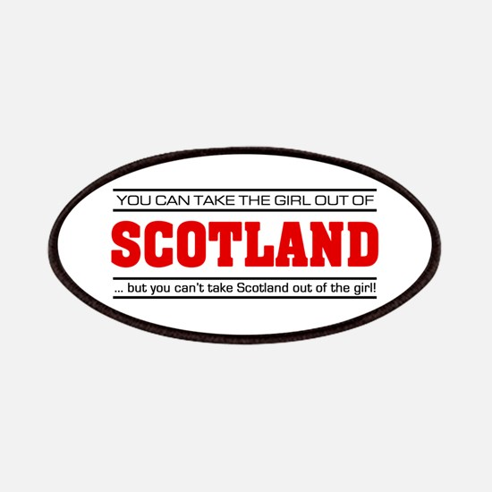 'Girl From Scotland' Patches