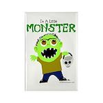 I'm a little Monster Rectangle Magnet