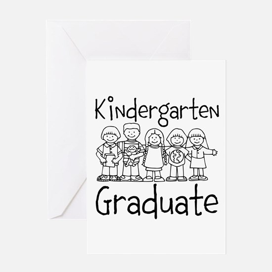 Kindergarten Graduate Greeting Card