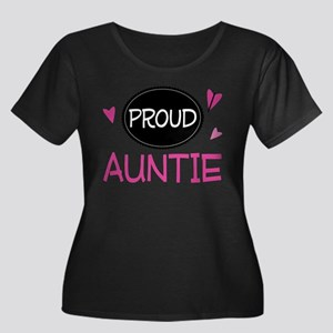 Proud Auntie Plus Size T-Shirt