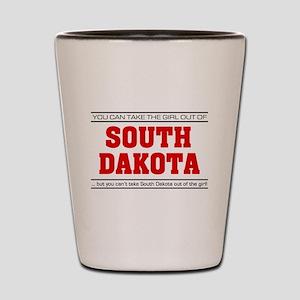 'Girl From South Dakota' Shot Glass