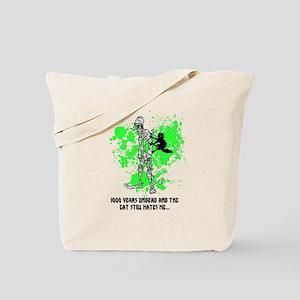Depressed Mummy Tote Bag