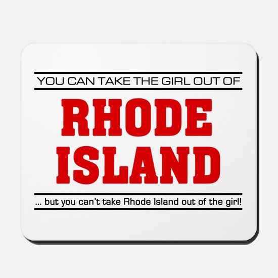 'Girl From Rhode Island' Mousepad