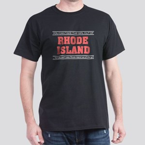'Girl From Rhode Island' Dark T-Shirt