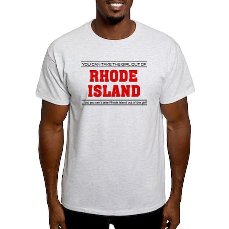 'Girl From Rhode Island' Light T-Shirt