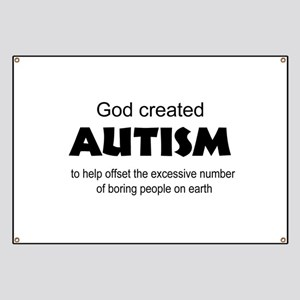 Autism offsets boredom Banner