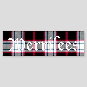 Tartan - Merrilees Sticker (Bumper)