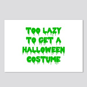 Lazy Costume Postcards (Package of 8)
