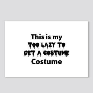 Too Lazy Costume Postcards (Package of 8)