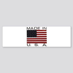MADE IN U.S.A. Sticker (Bumper)