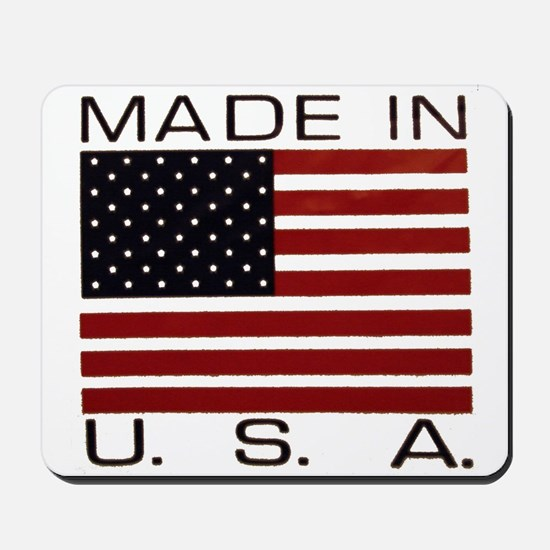 MADE IN U.S.A. Mousepad