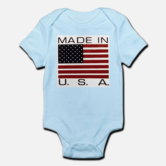 MADE IN U.S.A. Infant Bodysuit