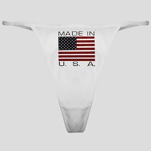 MADE IN U.S.A. Classic Thong