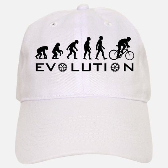 Evolution Of Bike Baseball Baseball Cap