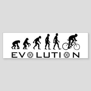 Evolution Of Bike Bumper Sticker