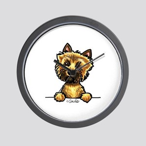 Funny Cairn Terrier Wall Clock