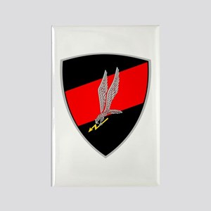 GROM - Red and Black Rectangle Magnet