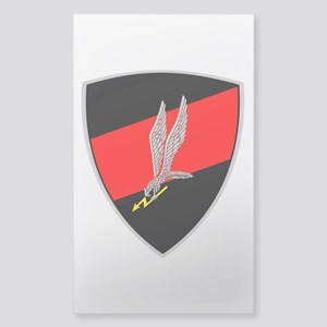GROM - Red and Black Sticker (Rectangle)