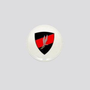 GROM - Red and Black Mini Button