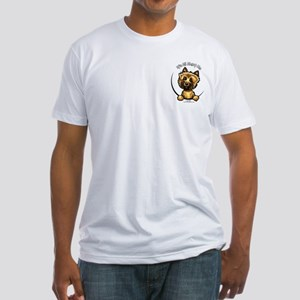 Cairn Terrier Pocket IAAM Fitted T-Shirt