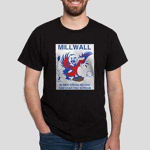 Millwall Scream Ash Grey T-Shirt