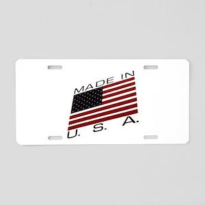 MADE IN U.S.A. CAMPAIGN IX Aluminum License Plate