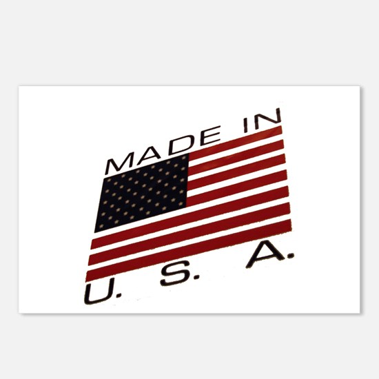 MADE IN U.S.A. CAMPAIGN IX Postcards (Package of 8