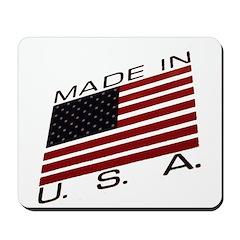 MADE IN U.S.A. CAMPAIGN IX Mousepad