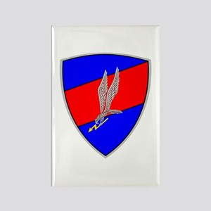 GROM - Blue and Red Rectangle Magnet