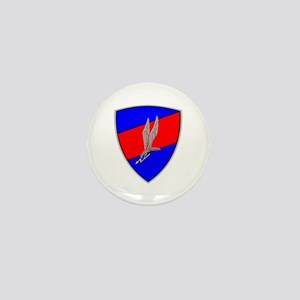 GROM - Blue and Red Mini Button