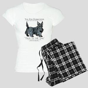Scottie Logo Tail End Women's Light Pajamas