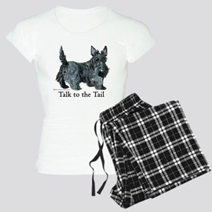 Scottish Terrier Attitude Women's Light Pajamas