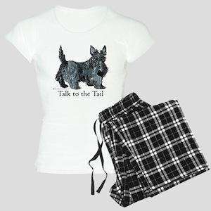 Scottish Terrier Attitude Women's Light Pajamas