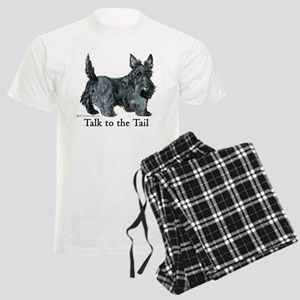 Scottish Terrier Attitude Men's Light Pajamas