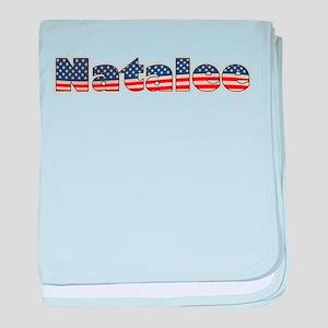 American Natalee baby blanket