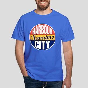 Nanaimo Vintage Label Dark T-Shirt