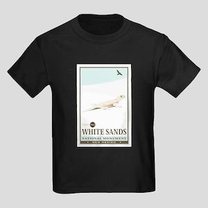 National Parks - White Sands 2 Kids Dark T-Shirt