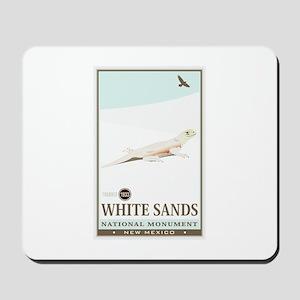 National Parks - White Sands 2 Mousepad