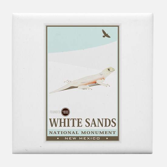 National Parks - White Sands 2 Tile Coaster