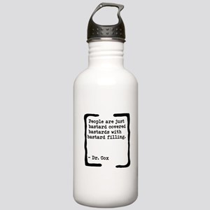 Bastard Covered Bastards Stainless Water Bottle 1L