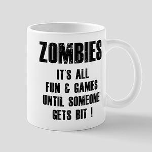 Zombies Fun and Games Mug