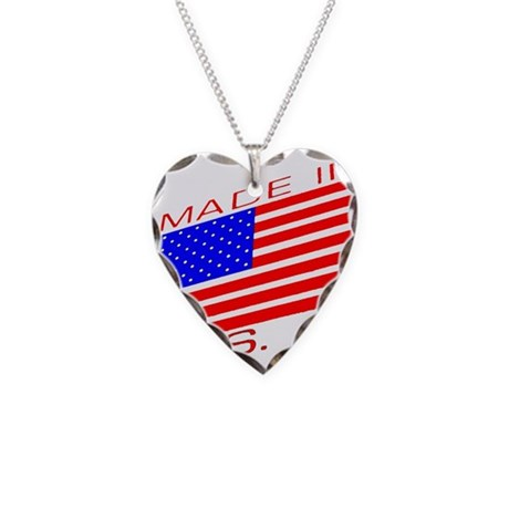 MADE IN U.S.A. CAMPAIGN XIII Necklace Heart Charm