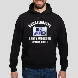 Bachelorette Party (Type In Date) Hoodie (dark)