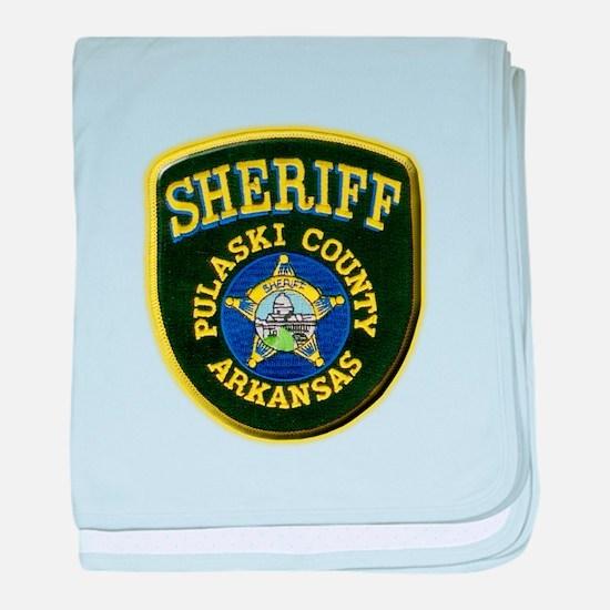Pulaski County Sheriff baby blanket